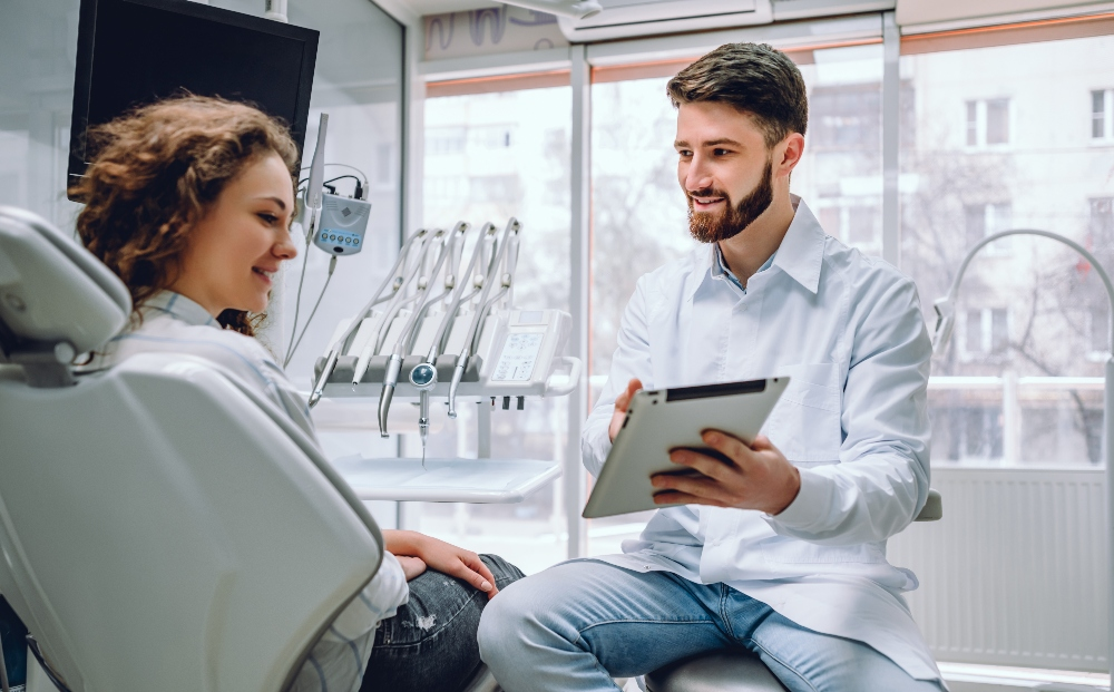 Connecting with dental patients