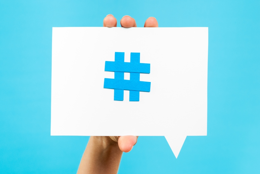 Hashtags for Twitter