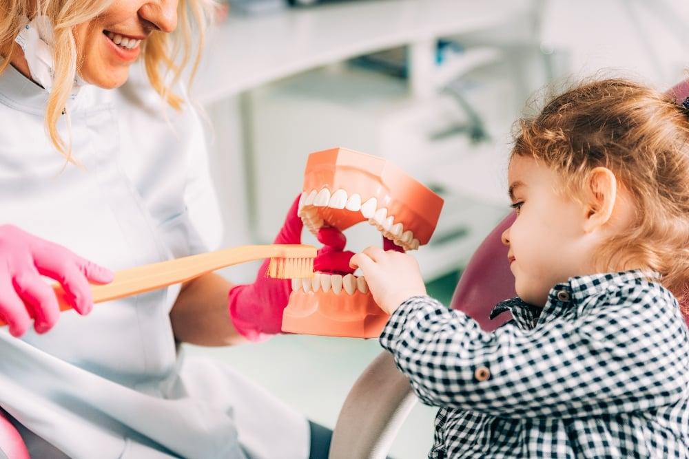 Pediatric dental patient tips