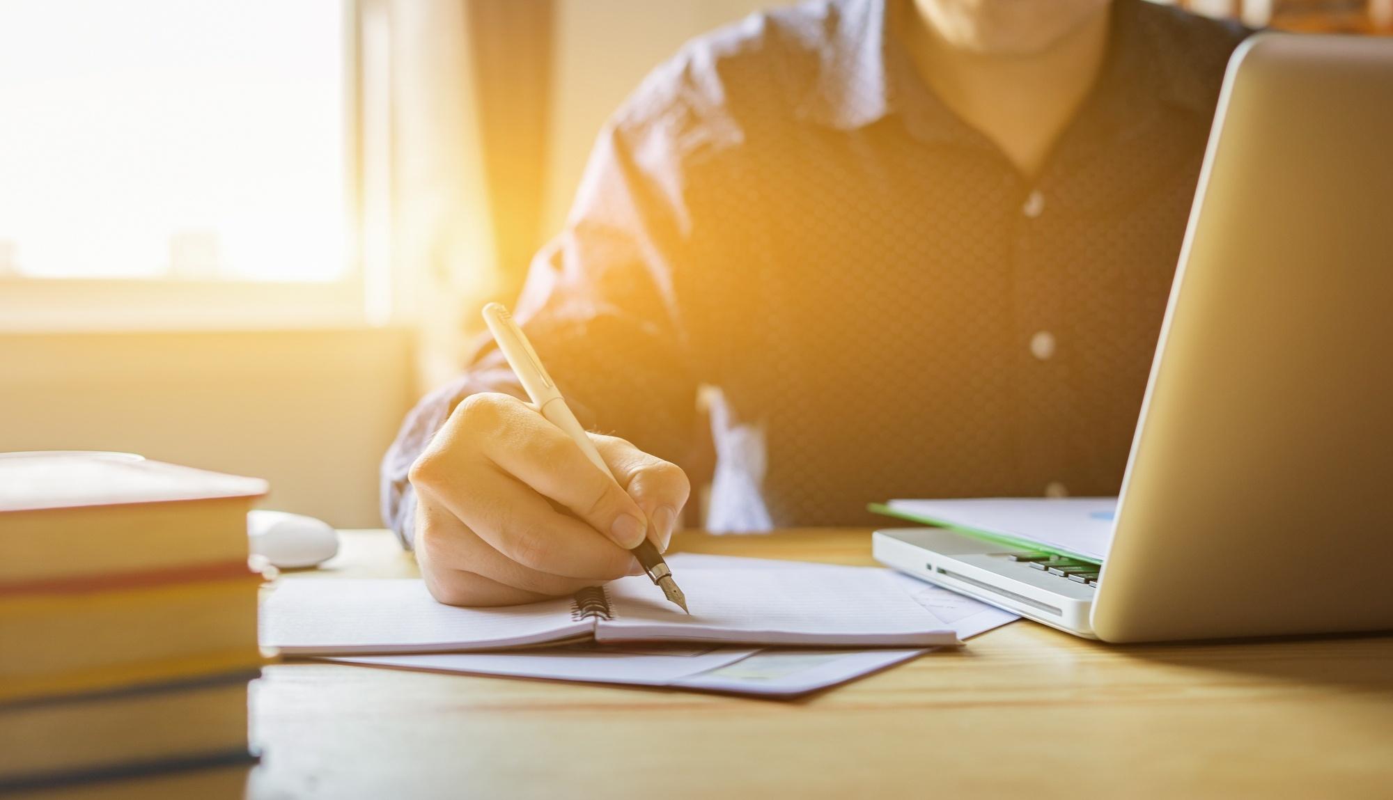 filling out malpractice insurance paperwork