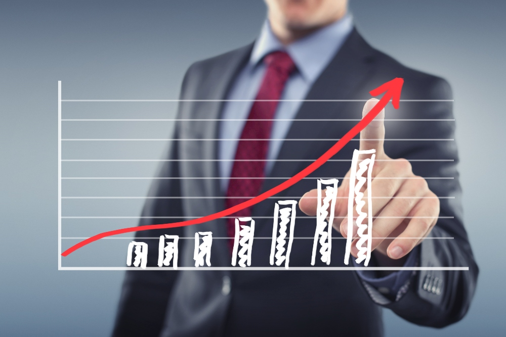 growth chart email marketing success for dentists